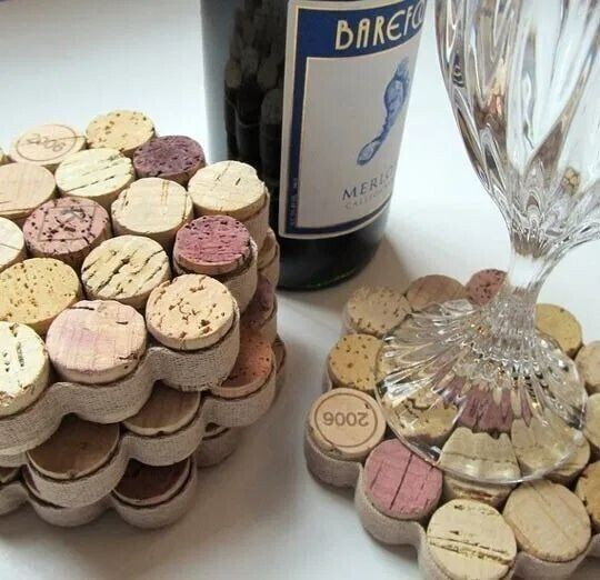 Wine Cork Craft Ideas