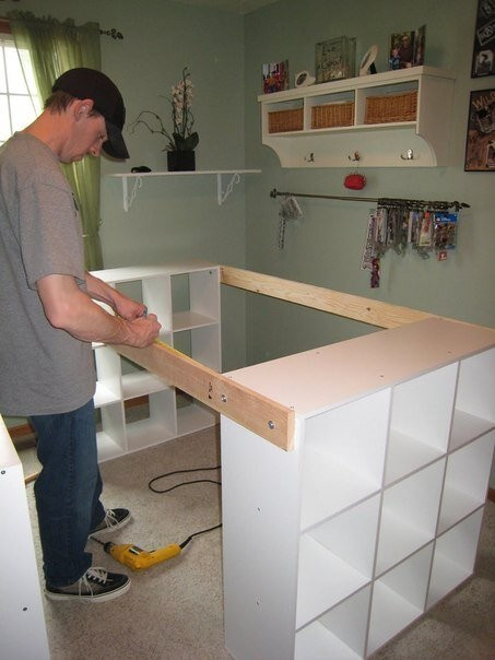 How to Build a Custom Craft Desk