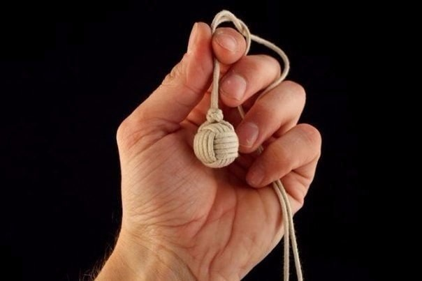 How to make Monkey Fist Knot